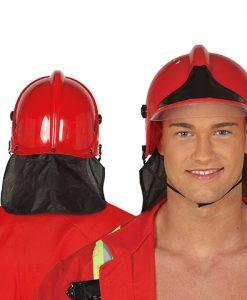 Casco de bombero adulto