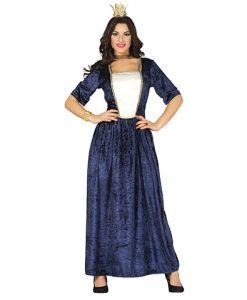 Disfraz medieval azul