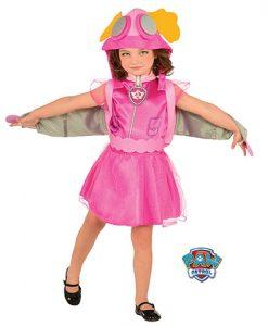 Disfraz de Skye™ Aviadora infantil