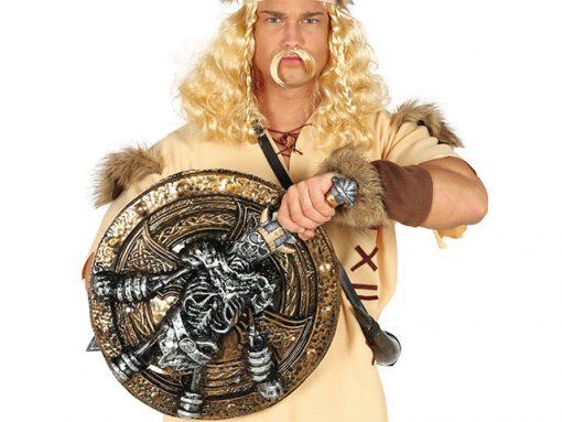 Escudo con espada de bárbaro