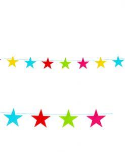 Guirnalda estrellas de fieltro
