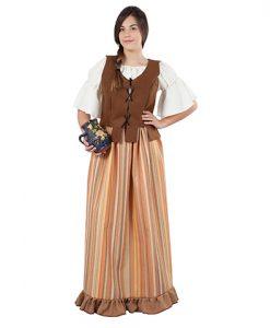Disfraz de mesonera medieval Julieta
