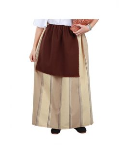 Falda de campesina medieval para mujer