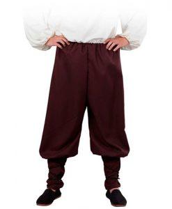 Pantalón medieval ancho para hombre