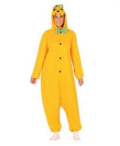 Disfraz calabaza taipo pijama adulto
