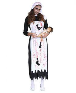 Disfraz enfermera zombie orfanato