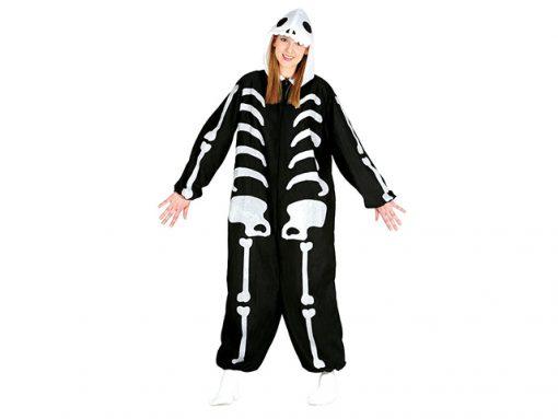 Disfraz esqueleto kigurumi