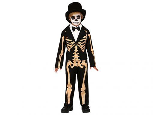 Disfraz esqueleto traje niño