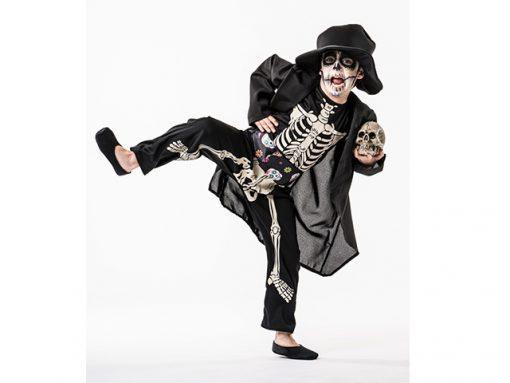 Disfraz de muerte esqueleto