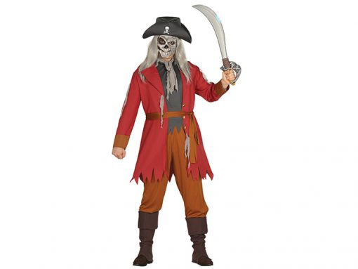 Disfraz pirata fantasma adulto