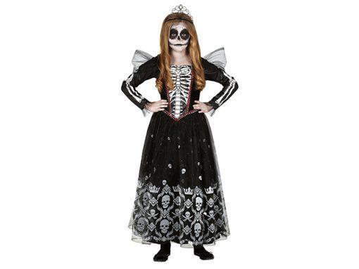Disfraz princesa esqueleto para niña