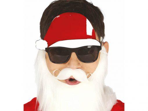 Gafas con gorro Papa Noel