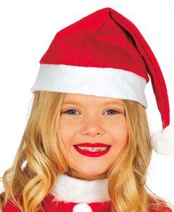 Gorro Papa Noel infantil