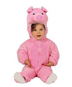 Disfraz de cerdito para bebé