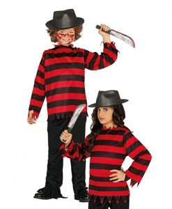 Disfraz Freddy Krueger infantil