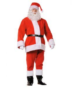 Disfraz Papa Noel forro polar