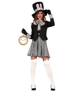 Disfraz de sombrerera loca para mujer