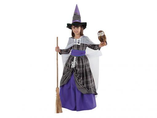 Disfraz de Brujita elegante para niña