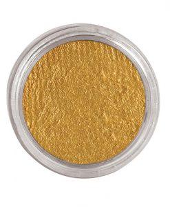 Maquillaje al agua oro