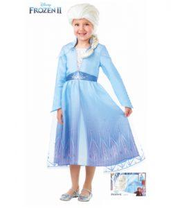 Disfraz Elsa Frozen 2 para niña caja regalo