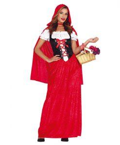 Disfraz Caperucita Mujer
