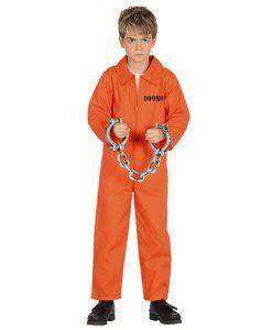 Disfraz preso infantil
