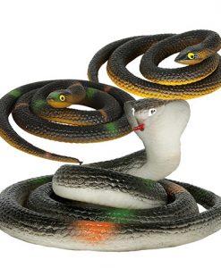 Serpiente de látex, 70 cm