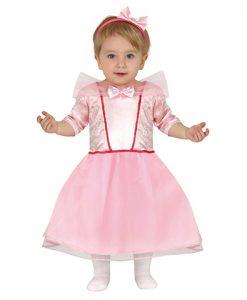 Disfraz de Princesita Rosa para bebé