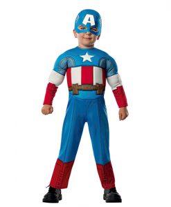 Disfraz Capitán América para bebé