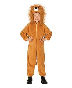 Disfraz de León peludo infantil