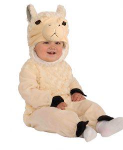 Disfraz de Llama para bebé