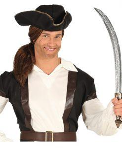 Espada pirata plástico 65cm