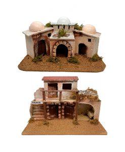 Casas, posadas y pueblos para belenes