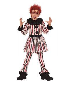 Disfraz de Payaso Terrorífico para niño